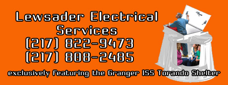 Lewsader Electrical Services, Illinois Tornado Shelters, Illinois Storm Shelters